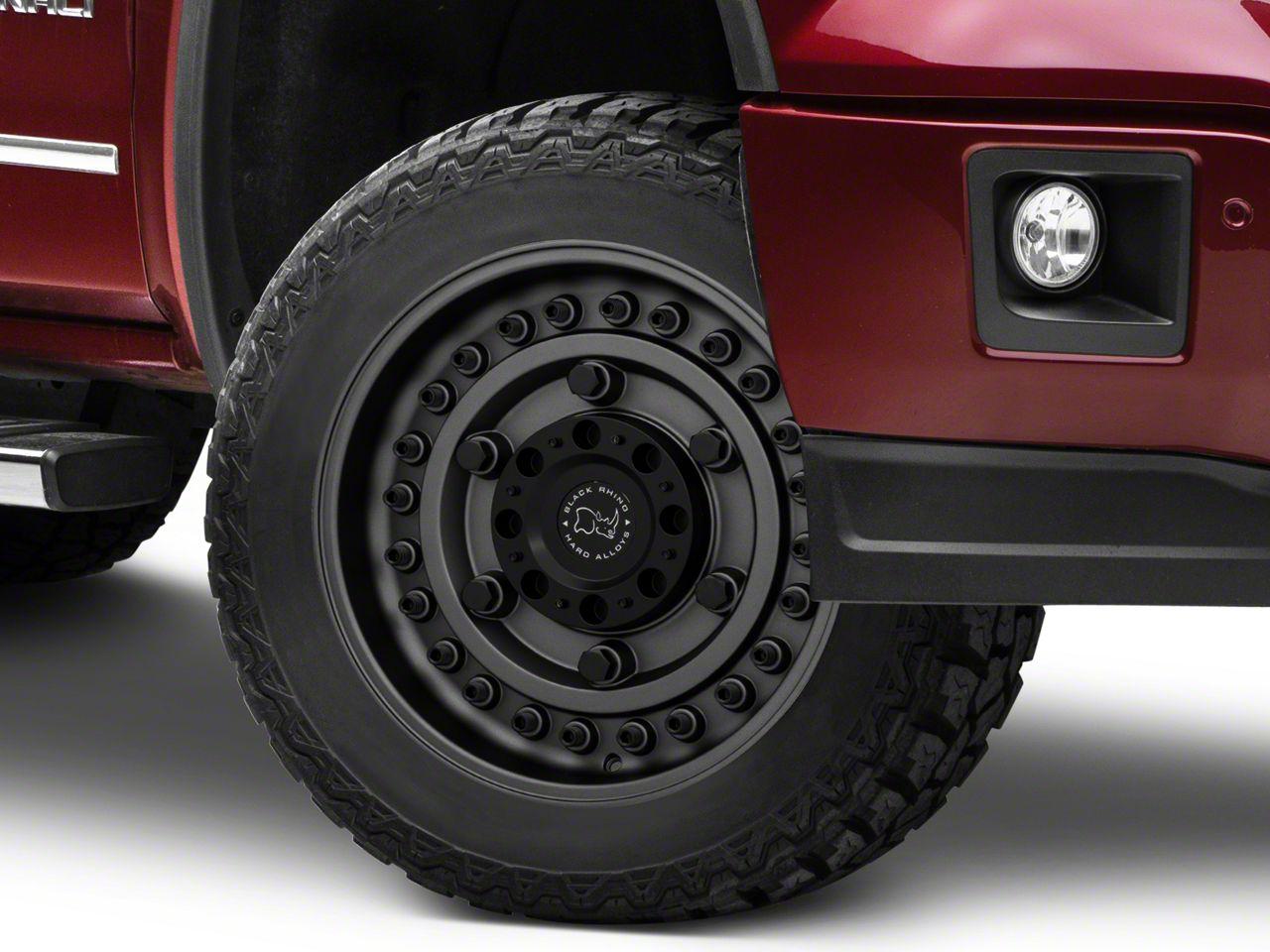 Black Rhino Armory Gunblack 6-Lug Wheel - 20x12 (07-18 Sierra 1500)