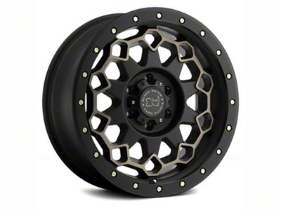 Black Rhino Diamante Matte Black Machined 6-Lug Wheel - 18x9 (07-18 Sierra 1500)
