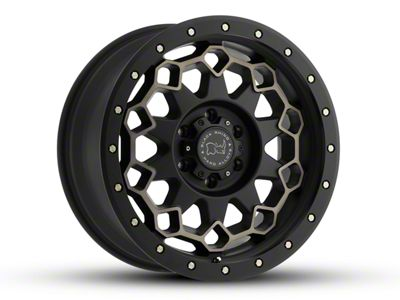 Black Rhino Diamante Matte Black Machined 6-Lug Wheel - 20x9 (07-18 Sierra 1500)
