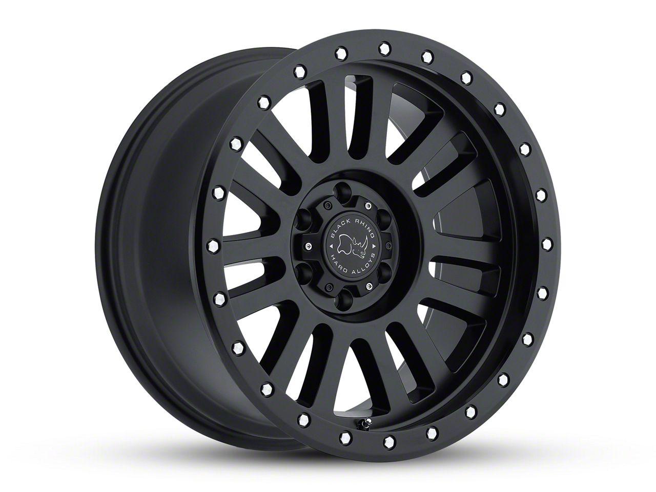 Black Rhino El Cajon Matte Black 6-Lug Wheel - 18x9 (07-18 Sierra 1500)