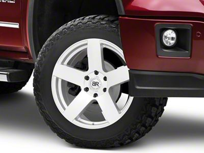 Black Rhino Everest Silver 6-Lug Wheel - 20x9 (07-18 Sierra 1500)