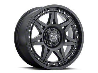 Black Rhino Hammer Matte Black 6-Lug Wheel - 17x9 (07-18 Sierra 1500)