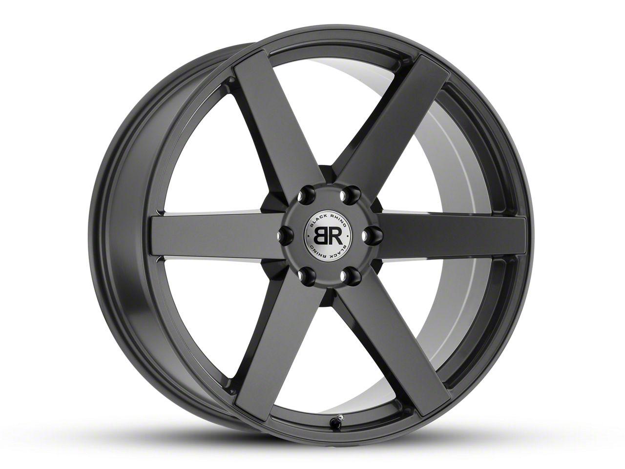 Black Rhino Karoo Gloss Gunmetal 6-Lug Wheel - 20x9.5 (07-18 Sierra 1500)