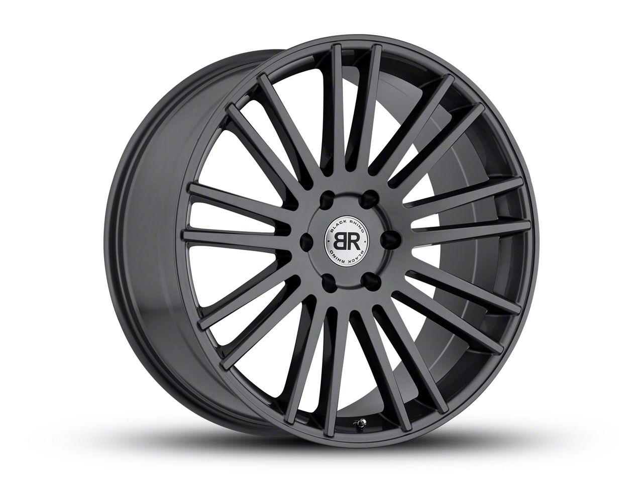 Black Rhino Kruger Gloss Gunmetal 6-Lug Wheel - 20x9 (07-18 Sierra 1500)