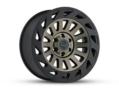 Black Rhino Madness Dark Tint Machined 6-Lug Wheel - 17x9 (07-18 Sierra 1500)