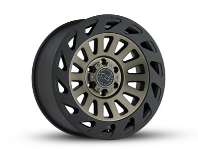 Black Rhino Madness Dark Tint Machined 6-Lug Wheel - 20x9 (07-18 Sierra 1500)