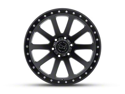 Black Rhino Mint Matte Black 6-Lug Wheel - 17x9 (07-18 Sierra 1500)