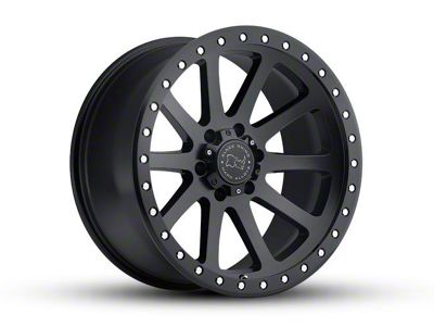 Black Rhino Mint Matte Black 6-Lug Wheel - 18x9 (07-18 Sierra 1500)