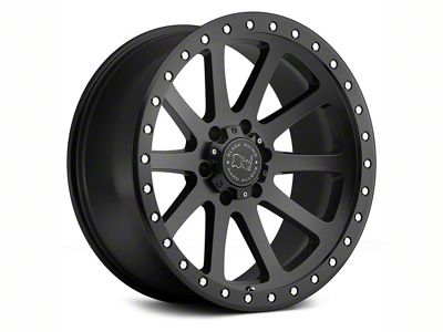 Black Rhino Mint Matte Black 6-Lug Wheel - 20x10 (07-18 Sierra 1500)