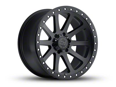 Black Rhino Mint Matte Black 6-Lug Wheel - 20x9 (07-18 Sierra 1500)
