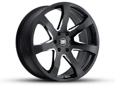 Black Rhino Mozambique Gloss Black Milled 6-Lug Wheel - 18x8.5 (07-18 Sierra 1500)
