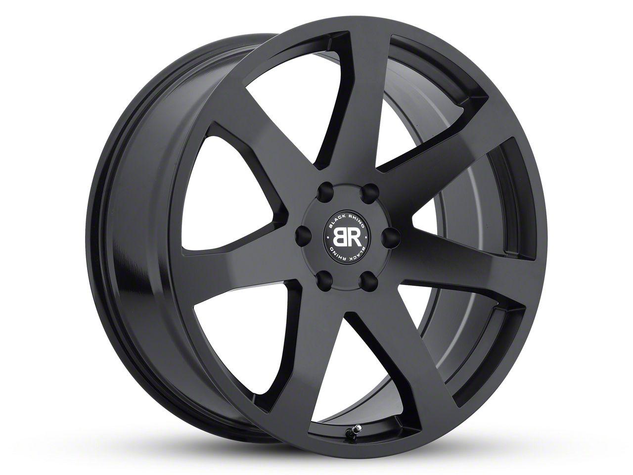 Black Rhino Mozambique Matte Black 6-Lug Wheel - 20x8.5 (07-18 Sierra 1500)