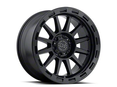 Black Rhino Revolution Matte Black 6-Lug Wheel - 17x9 (07-18 Sierra 1500)