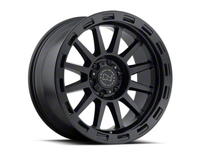 Black Rhino Revolution Matte Black 6-Lug Wheel - 18x9 (07-18 Sierra 1500)