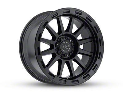 Black Rhino Revolution Matte Black 6-Lug Wheel - 20x9 (07-18 Sierra 1500)