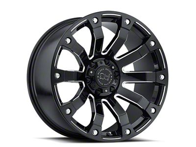 Black Rhino Selkirk Gloss Black Milled 6-Lug Wheel - 18x9 (07-18 Sierra 1500)