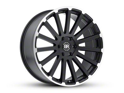 Black Rhino Spear Matte Black Machined 6-Lug Wheel - 20x9 (07-18 Sierra 1500)