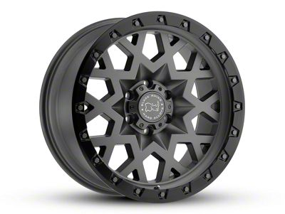 Black Rhino Sprocket Matte Gunmetal 6-Lug Wheel - 18x9.5 (07-18 Sierra 1500)