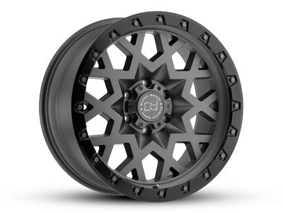 Black Rhino Sprocket Matte Gunmetal 6-Lug Wheel - 20x9.5 (07-18 Sierra 1500)