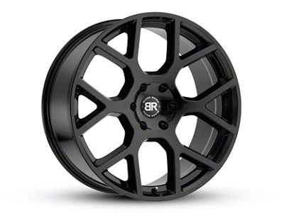Black Rhino Tembe Gloss Black 6-Lug Wheel - 20x9 (07-18 Sierra 1500)