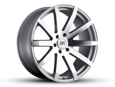 Black Rhino Traverse Silver 6-Lug Wheel - 20x9 (07-18 Sierra 1500)