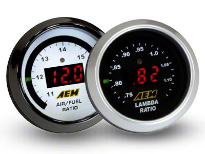 AEM Electronics Digital Wideband UEGO Air Fuel Ratio Gauge (07-18 Sierra 1500)