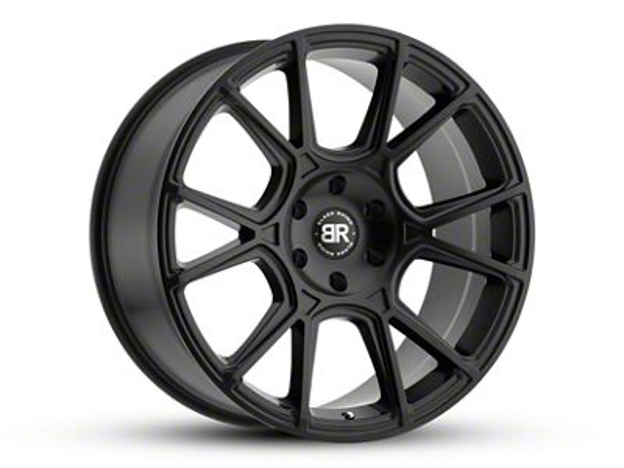 Black Rhino Mala Matte Black 6-Lug Wheel - 22x10 (07-18 Sierra 1500)