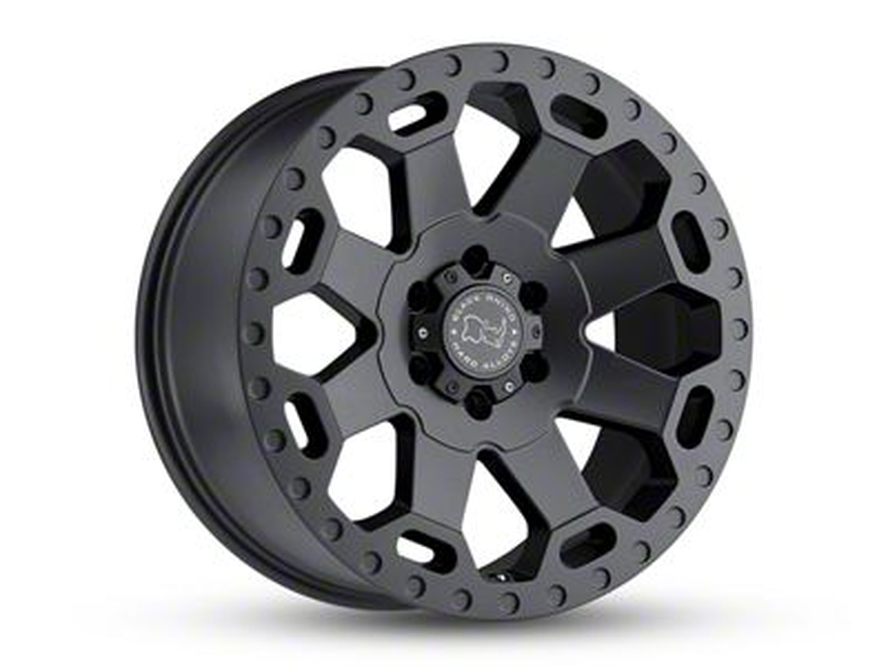 Black Rhino Warlord Matte Gunmetal 6-Lug Wheel - 17x9 (07-18 Sierra 1500)