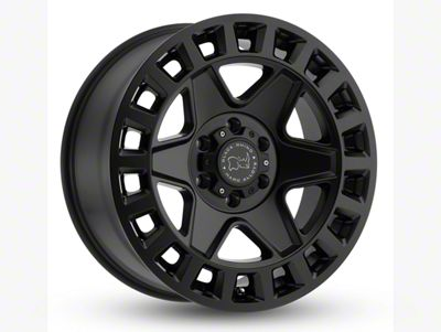 Black Rhino York Matte Black 6-Lug Wheel - 18x9 (07-18 Sierra 1500)