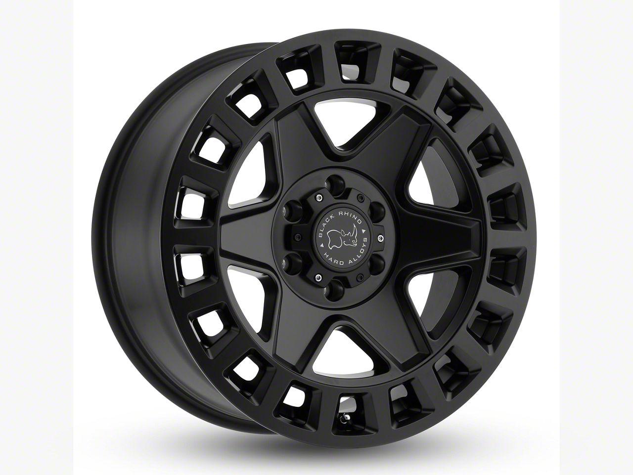Black Rhino York Matte Black 6-Lug Wheel - 20x9 (07-18 Sierra 1500)