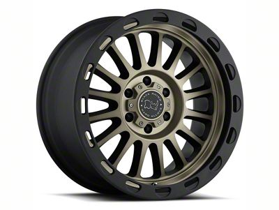 Black Rhino Taupo Matte Black Machined 6-Lug Wheel - 17x9 (07-18 Sierra 1500)