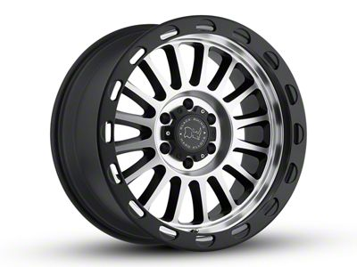 Black Rhino Taupo Matte Black Machined 6-Lug Wheel - 20x9 (07-18 Sierra 1500)