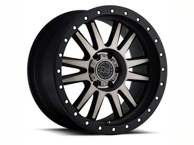 Black Rhino Tanay Matte Black Machined 6-Lug Wheel - 18x9 (07-18 Sierra 1500)