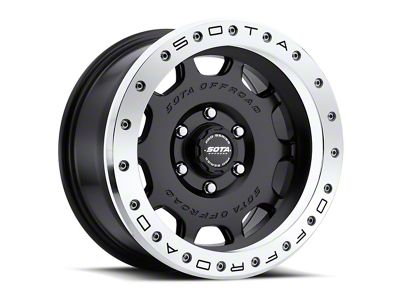 SOTA Off Road D.R.T. Stealth Black 6-Lug Wheel - 20x10 (07-18 Sierra 1500)