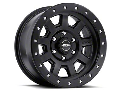 SOTA Off Road S.S.D. Stealth Black 6-Lug Wheel - 17x8.5 (07-18 Sierra 1500)