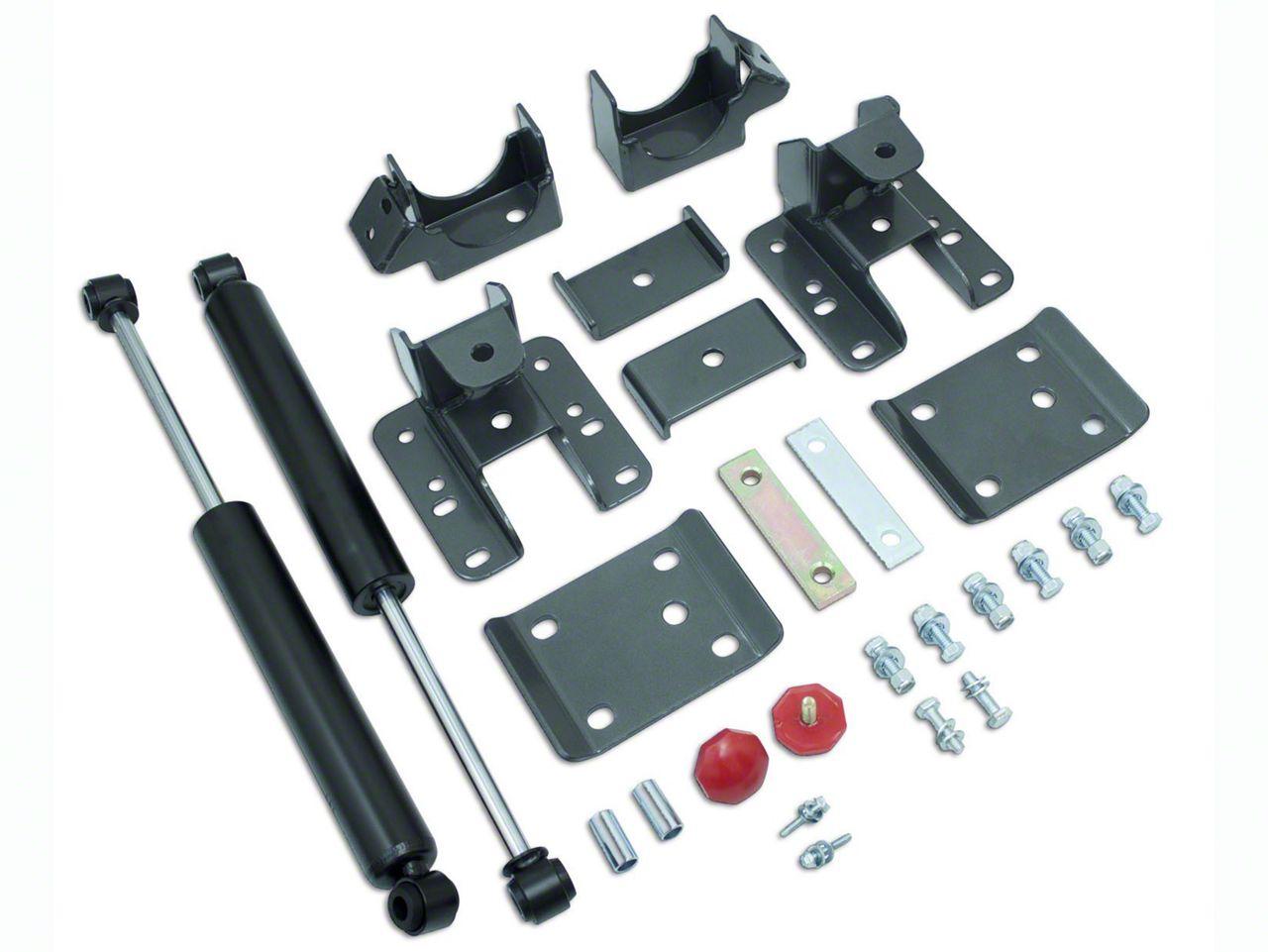 Max Trac 5-6 in. Adjustable Rear Flip Kit w/ Max Trac Shocks (07-13 Sierra 1500)