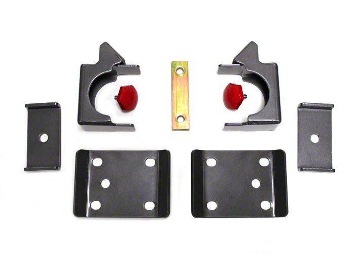 Max Trac Rear Flip Lowering Kit - 7.5 in. (07-18 Sierra 1500)