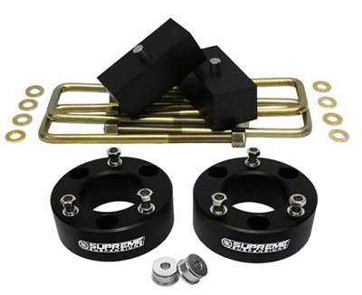 Supreme Suspensions 2 in. Front / 1.5 in. Rear Pro Lift Kit (07-18 Sierra 1500, Excluding 14-18 Denali)