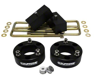 Supreme Suspensions 2.5 in. Front / 1 in. Rear Pro Lift Kit (07-18 Sierra 1500, Excluding 14-18 Denali)