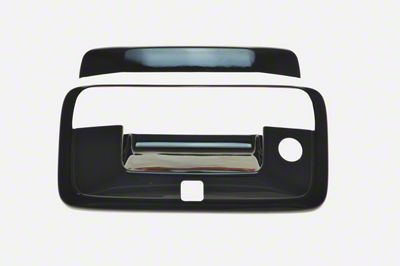 Black Horse Off Road Tailgate Handle Cover - Black (14-18 Sierra 1500)