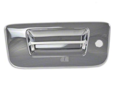 Black Horse Off Road Tailgate Handle Cover - Chrome (07-13 Sierra 1500)