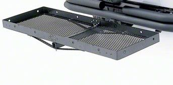 Smittybilt 2 in. Receiver Hitch Rack - 20 in. x 60 in. (07-18 Sierra 1500)