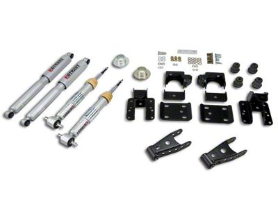 Belltech Lowering Kit w/ Street Performance Shocks - +1-2 in. Front / 4 in. Rear (07-13 Sierra 1500 w/ Short Box)