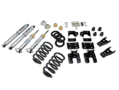 Belltech Lowering Kit - 1-2 in. Front / 4 in. Rear (07-13 2WD Sierra 1500 Regular Cab w/ Short Box, Extended Cab, Crew Cab)