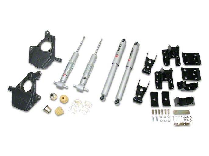 Belltech Lowering Kit - 2 in. Front / 4 in. Rear (07-13 Sierra 1500 w/ Short Box)