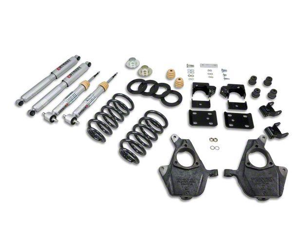Belltech Lowering Kit - 3-4 in. Front / 7 in. Rear (07-13 2WD Sierra 1500 Regular Cab w/ Short Box)