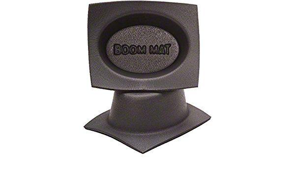 Boom Mat Speaker Baffles - 4x6 in. Oval Slim (07-18 Sierra 1500)
