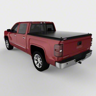 UnderCover Classic Hinged Tonneau Cover - Black Textured (14-18 Sierra 1500 w/ Short & Standard Box)