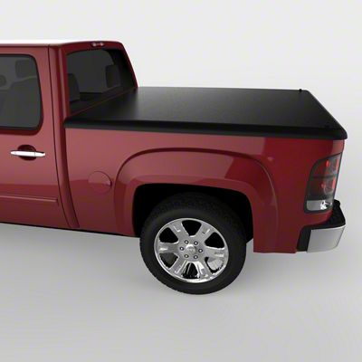 UnderCover Classic Hinged Tonneau Cover - Black Textured (07-13 Sierra 1500 w/ Short & Standard Box)