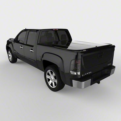 UnderCover LUX Hinged Tonneau Cover - Pre-Painted (07-13 Sierra 1500 w/ Short & Standard Box)
